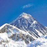 Paul Templer prepares to climb Mount Everest