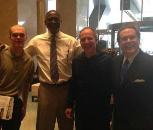 J-Mac, Nique, Coach & Bob Rathbun