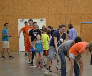 Volunteering with Camp No Limits