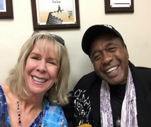Linda with good friend Ben Vereen