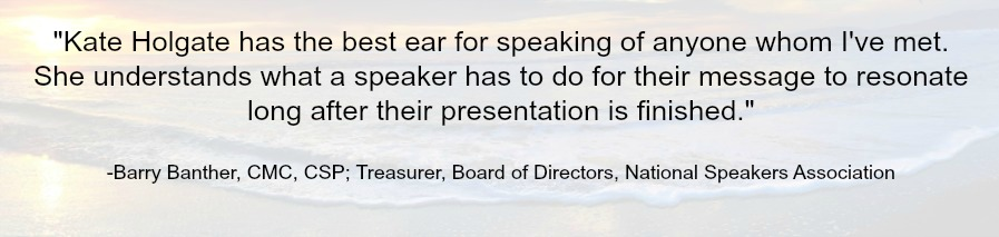 speaker manager understands speaking