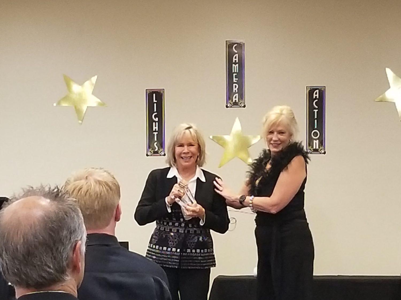 Linda Larsen Funny Motivational Speaker Lifetime Achievement Award