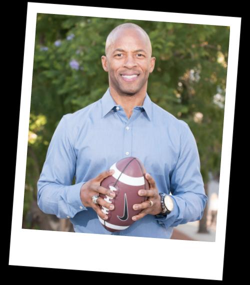 JJ Birden football Speaker leadership opportunity